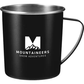 16 oz Atlas Metal Camping Mug