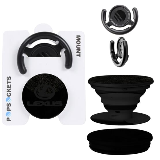 Vegan Leather PopSockets Mounts®Combo