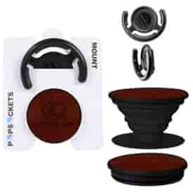 Vegan Leather PopSockets Mounts® Combo