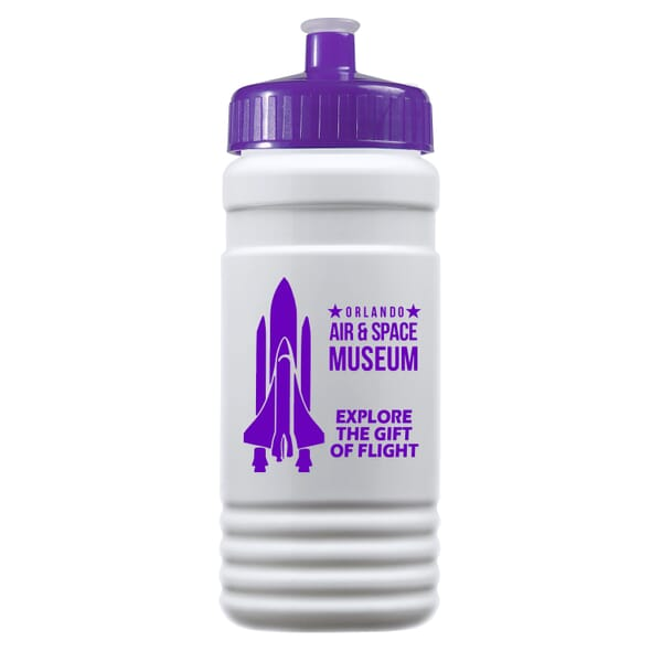 20 oz Recycled PETE Bottle with Push Pull Lid