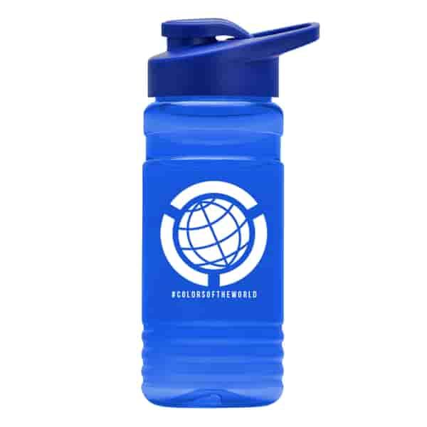 20 oz EcoPETE Recycled Bottle Drink-Thru Lid