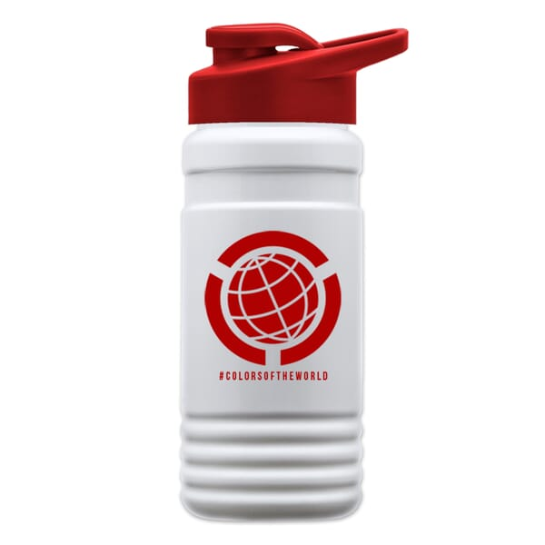 20 oz EcoPETE Recycled Bottle Drink-Thru Lid