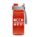 20 oz Recycled PETE Bottle With Quick Snap Lid
