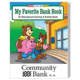 My Favorite Bank Coloring Book