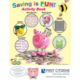 Saving is Fun Activity Book
