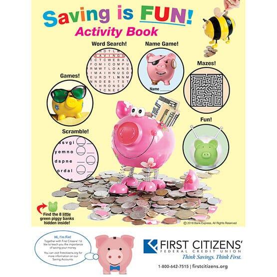 Saving is Fun Activity Book