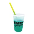17 oz Chameleon Stadium Cup with Lid and Straw