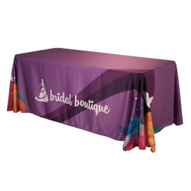 6' Satin Table Throw
