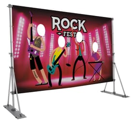 Outdoor Headliner Face Cutout Display