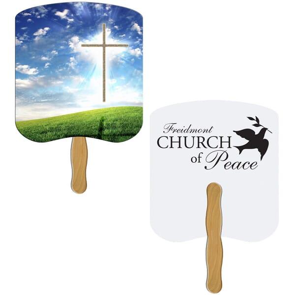 Cross Hand Fan