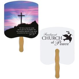 John 3.16 Hand Fan