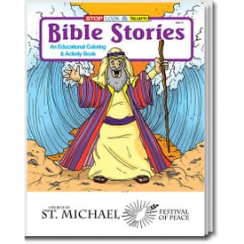 Bible Stories Coloring and Activity Book