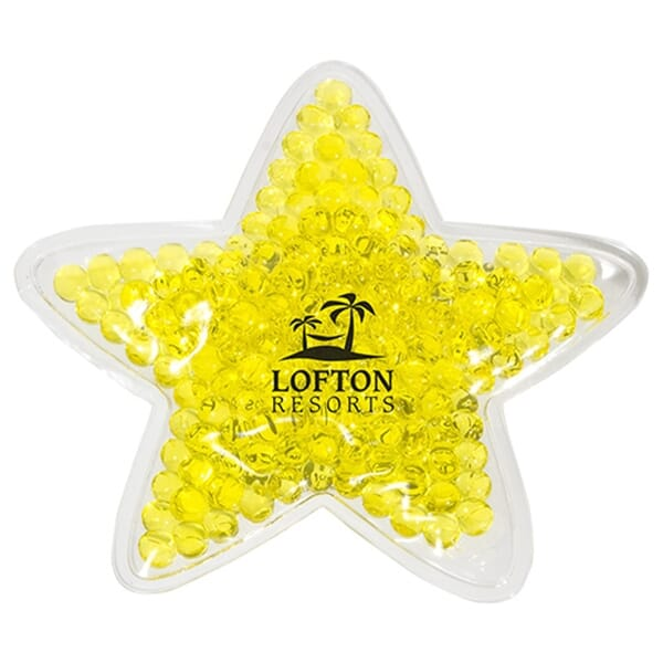 Aqua Pearls™ Hot/Cold Pack Star Shaped