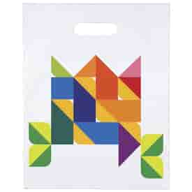 Two Sided Digital Full Color Die Cuts 12x15