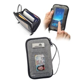 Tekie Smartphone RFID Clutch Bag