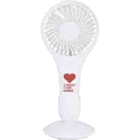 Portable Hand Fan with Holder