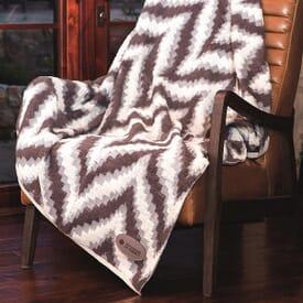 Chevron Berber Blanket