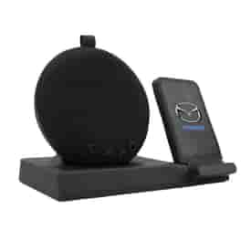 Aircharge Beethoven - Desktop Bluetooth® Speaker and Wireless Charging Station