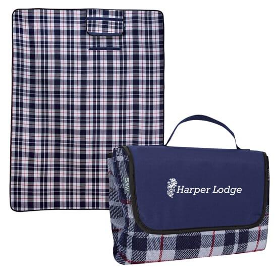 Highlander Plaid Roll-Up Blanket