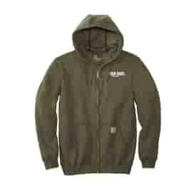 Carhartt®Midweight Hooded Zip-Front Sweatshirt