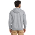 Backside of hoodie
