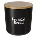 17 oz Ceramic Container With Bamboo Lid
