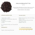 English Breakfast tea information