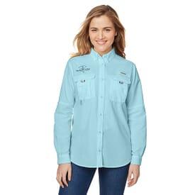 Ladies' Columbia® Bahama™ Long-Sleeve Shirt