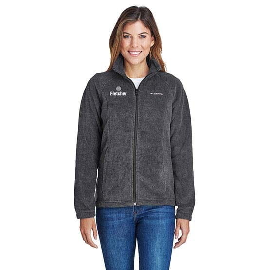 Ladies' Columbia® Benton Springs™ Full-Zip Fleece