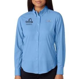 Ladies' Columbia® Tamiami™ II Long-Sleeve Shirt
