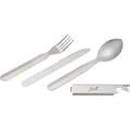 Cutlery set open