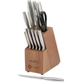 Prime Chef™ Stainless Steel 14 Piece Block Set