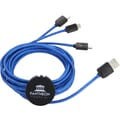 Rolly 10 foot 3-in-1 Light Up Logo Cable