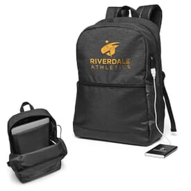 Power Loaded Tech Squad Backpack with Power Bank