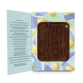 Fully Customizable Box with Milk Chocolate Molded Maze