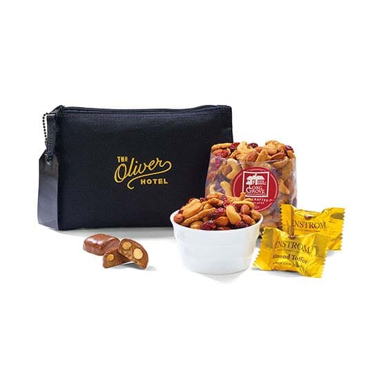 Gift set with snacks