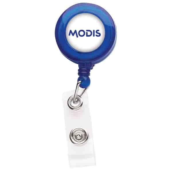 Translucent Better Round Badge Reel