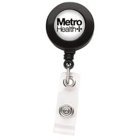 Opaque Better Round Badge Reel