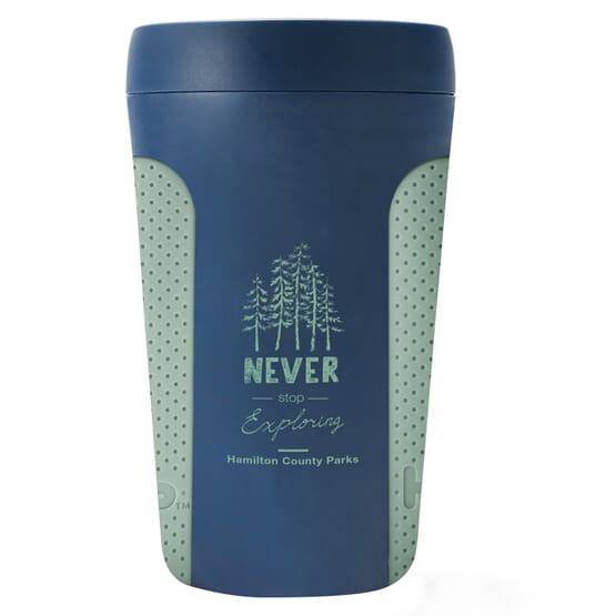 Hip Coffee Cup with Silicone Grip