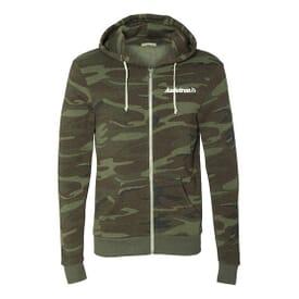 Alternative® Rocky Eco-Fleece Full-Zip Hooded Sweatshirt
