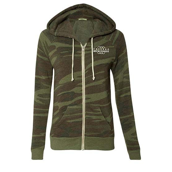 Alternative® Women's Adrian Eco-Fleece Hooded Sweatshirt