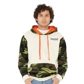 Code Five - Fashion Camo Hooded Sweatshirt