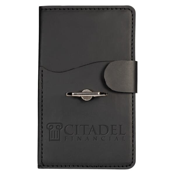 Tuscany™ Dual Card Phone Wallet with Metal Ring