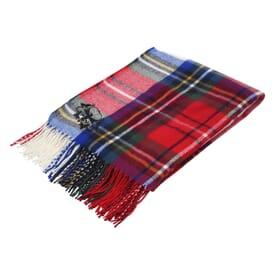 Manchester Fringed Throw Blanket