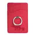 Leeman™ RFID Phone Pocket with Metal Ring Phone Stand