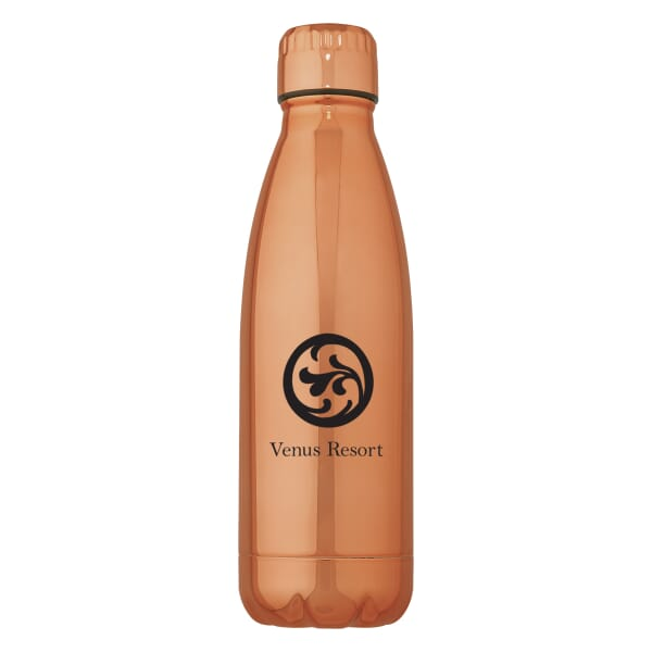 16 oz Vigo Metallic Stainless Insulated Bottle
