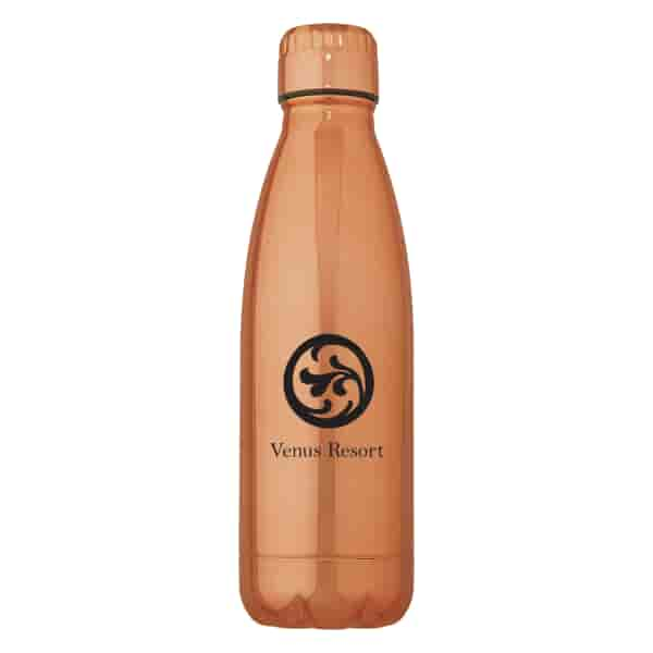 16 oz Vigo Metallic Stainless Insulated Bottle