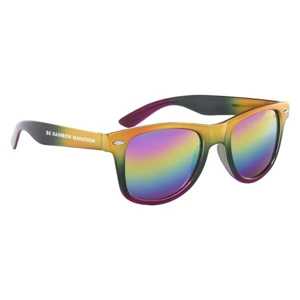 Metallic Rainbow Malibu Sunglasses