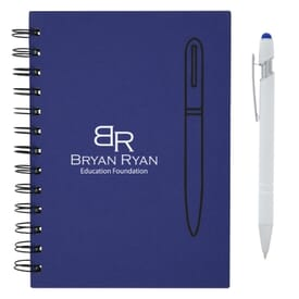 Magnetism Spiral Notebook & Incline Stylus Pen