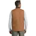 Backside of vest